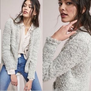 Anthropologie SnowFall Tweed jacket
